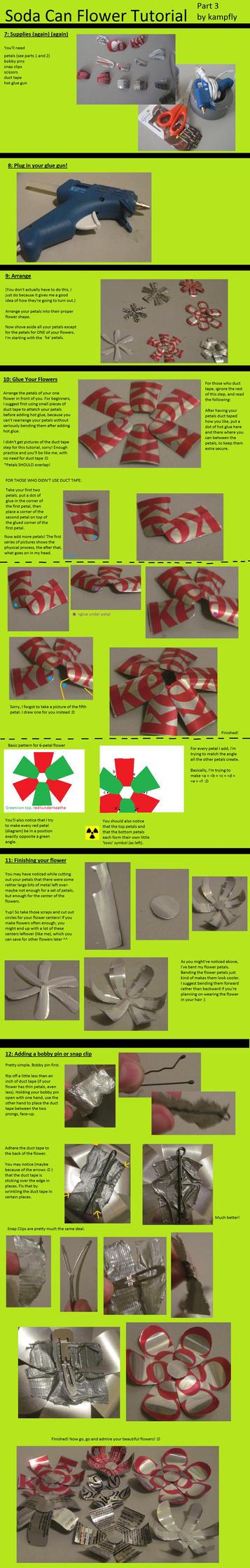 Soda Flower tutorial pt 3 by kampfly