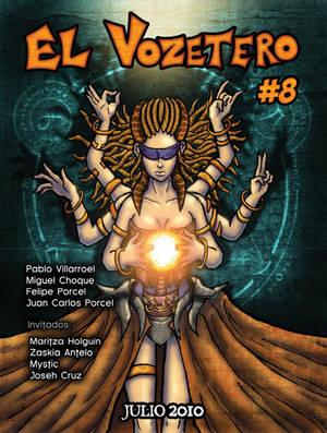 El Vozetero 8 Cover