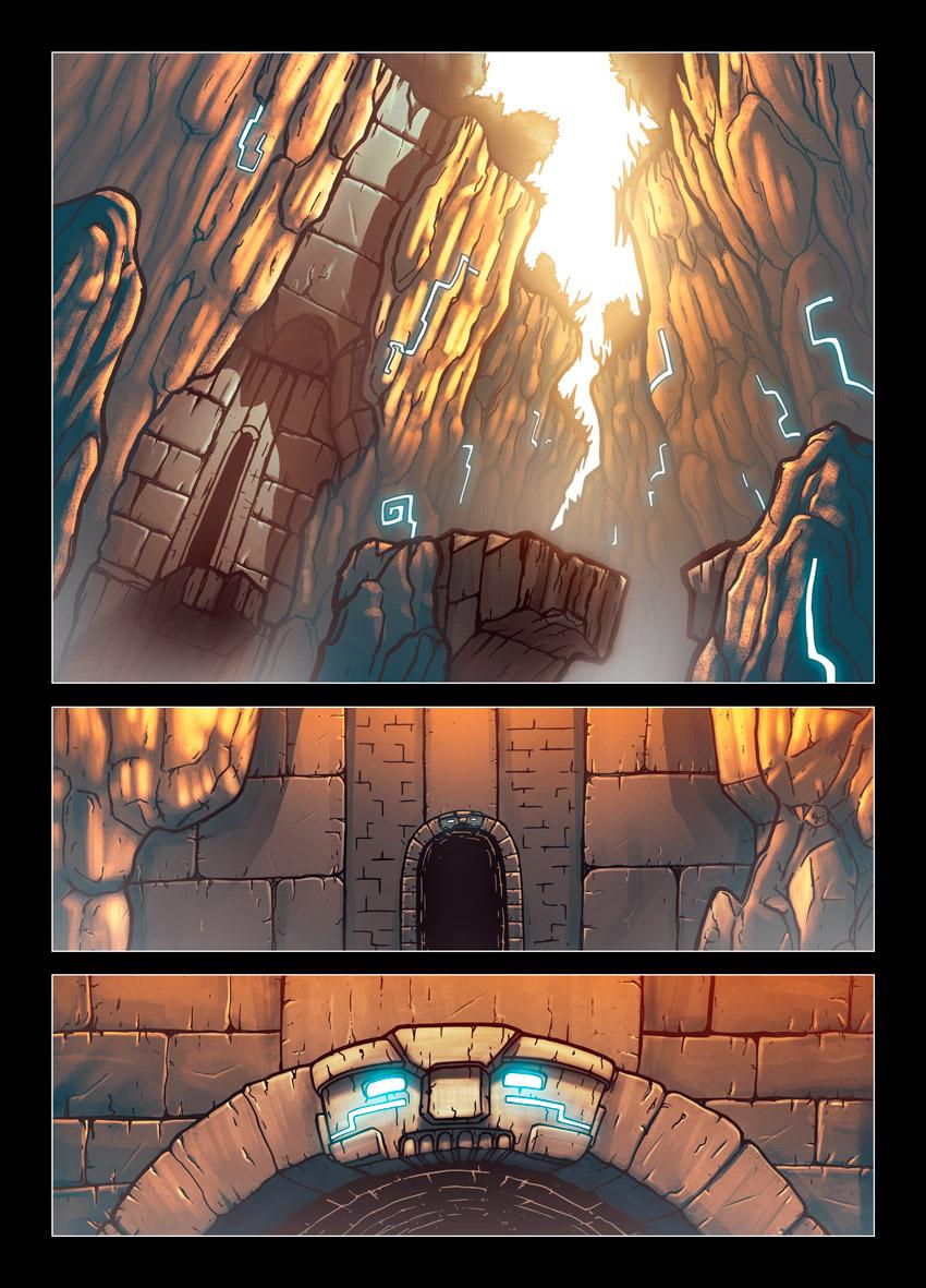 Ciudades oscuras pagina 1 by evilself