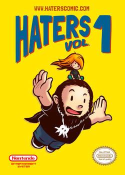 HATERS - the webcomic  Vol1 (color)