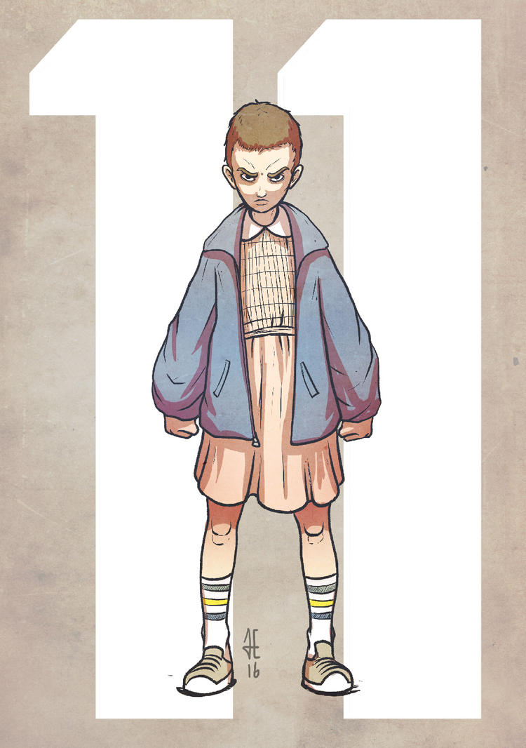 Eleven - Stranger Things by evilself