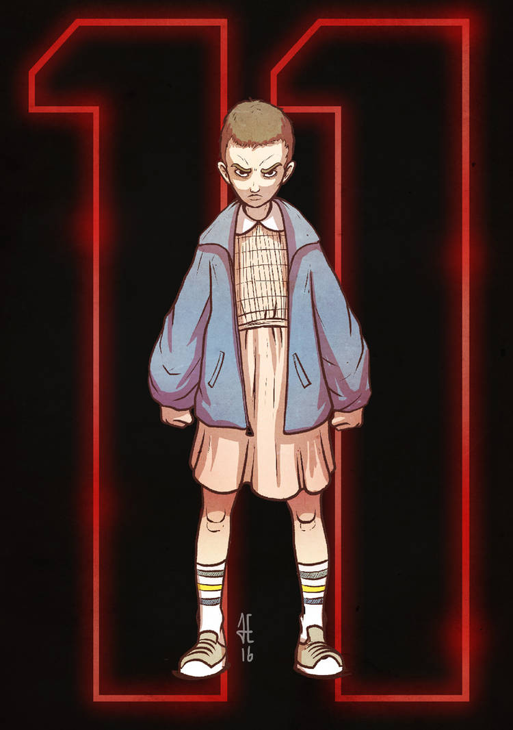 Eleven v2 - Stranger Things by evilself