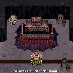 MiniDoom 2 - Hellkeep by evilself