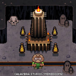 MiniDoom 2 - Dark Citadel by evilself