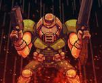 Mini Doom Guy by evilself