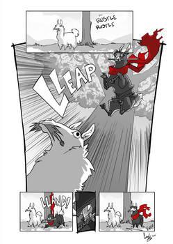 Ninja Llama Attack