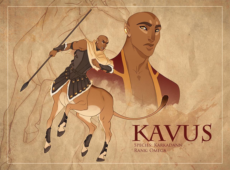Kavus Character Sheet by hellcorpceo