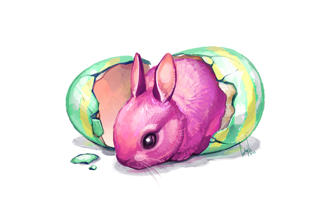Easter Bun by hellcorpceo