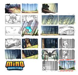 MinoMonsters Trailer - Color Boards