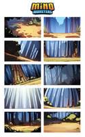 MinoMonsters Trailer - Backgrounds