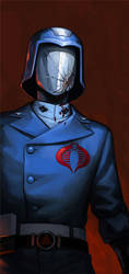 Cobra Commander by hellcorpceo