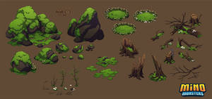 MinoMonsters Forest Assets