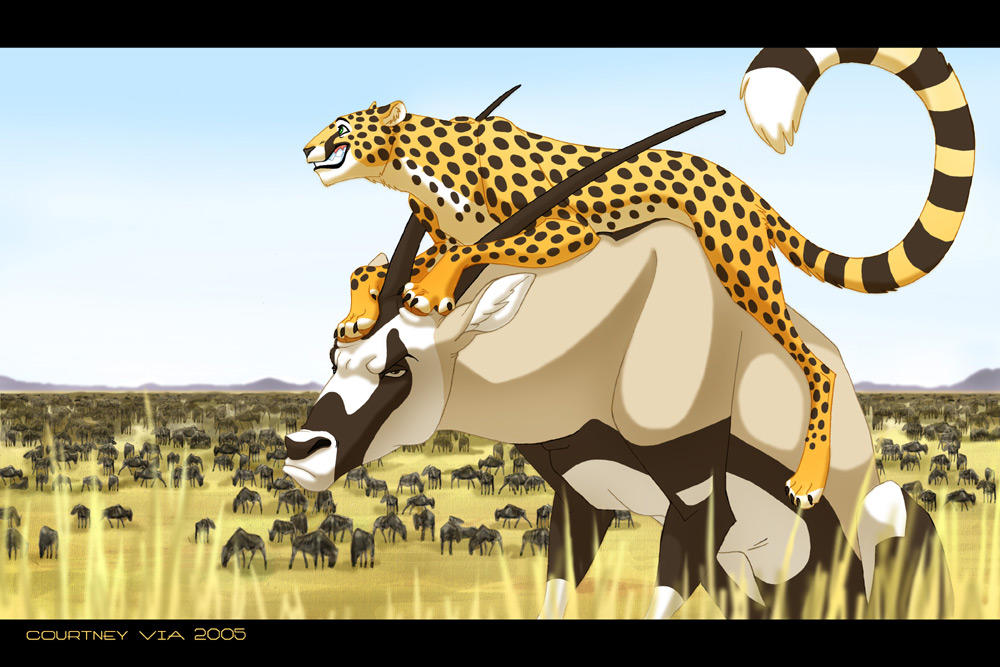 Please Do Not Ride the Gemsbok by hellcorpceo