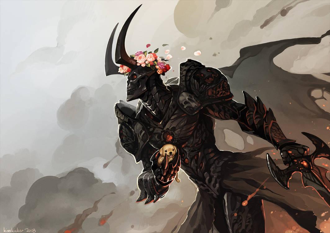 Demon Knight by hellcorpceo