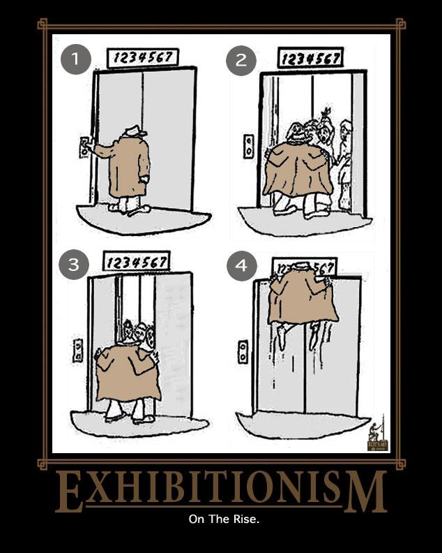 Эксгибиционизм фото