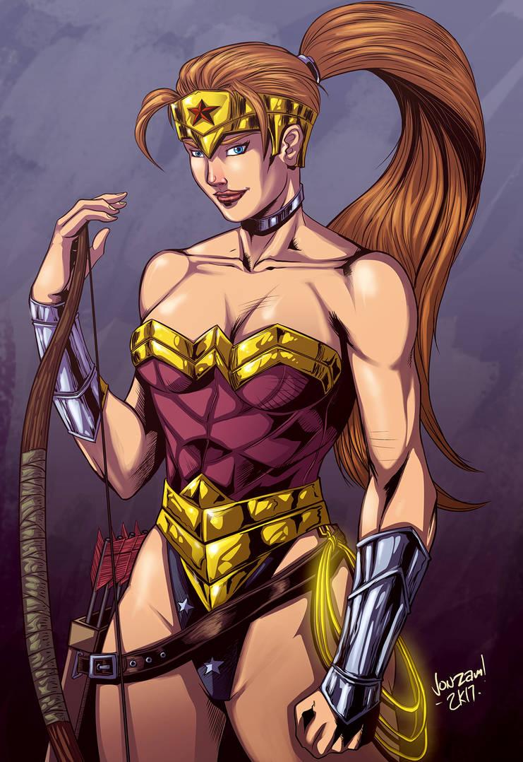 90s Wonder Woman Artemis