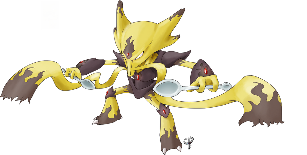 Pokemon Female Alakazam Images | Pokemon Images