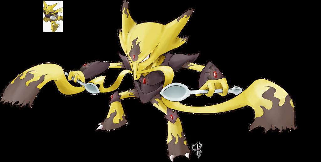 Pokemon Female Alakazam Images   Pokemon Images