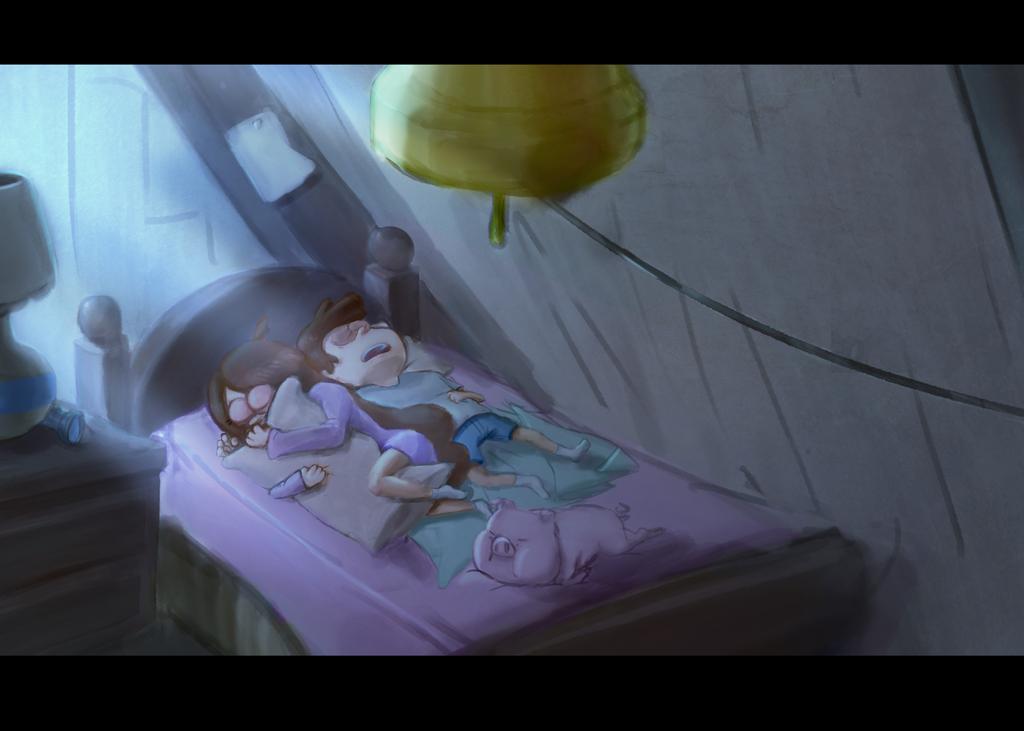 Sleeping cuties by Liger69
