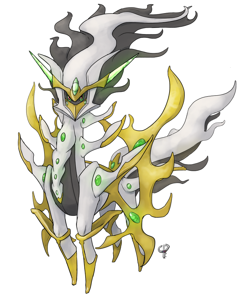 Download Shiny Arceus Fire Void arceus by liger69