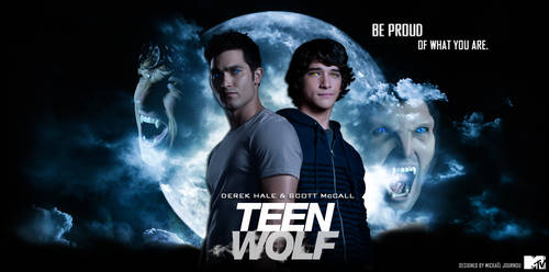 Derek Hale and Scott McCall by FastMike