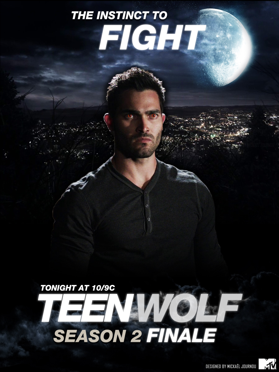 Derek - Teen Wolf Season 2 Finale poster by FastMike on ...