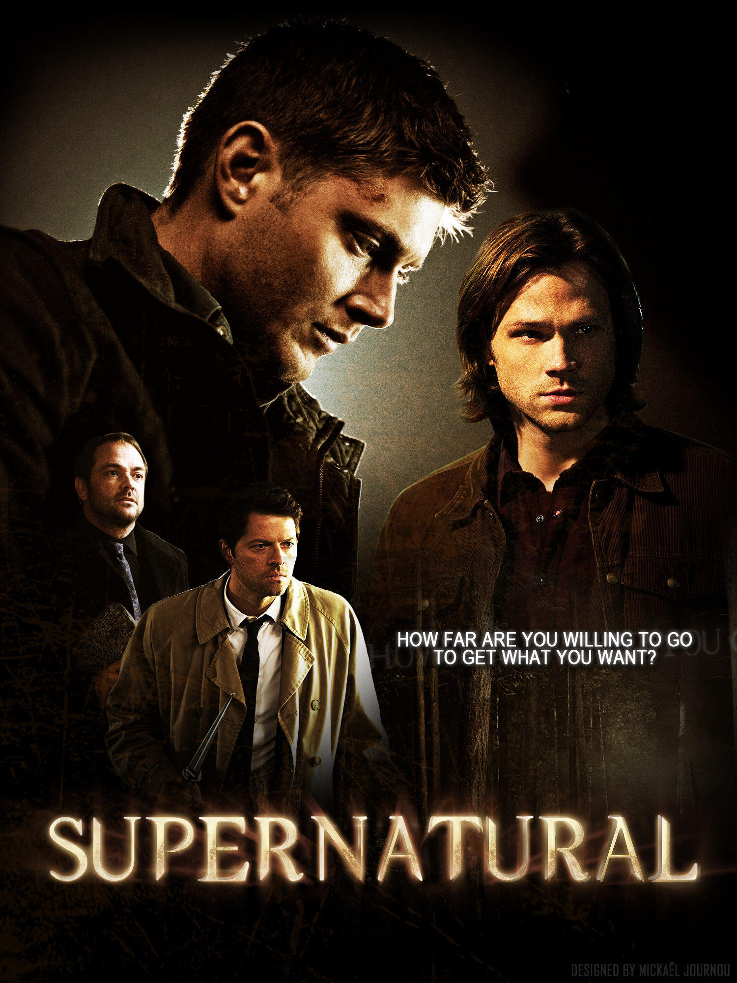 Supernatural Season 8 Poster by FastMike on DeviantArt