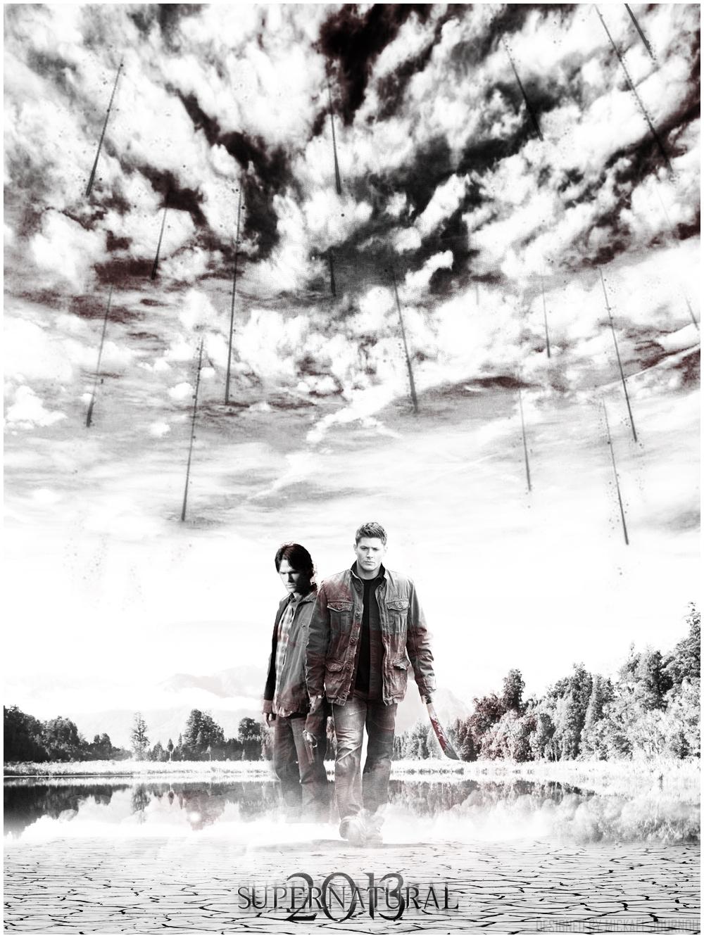Supernatural Season 9 Poster by FastMike on DeviantArt