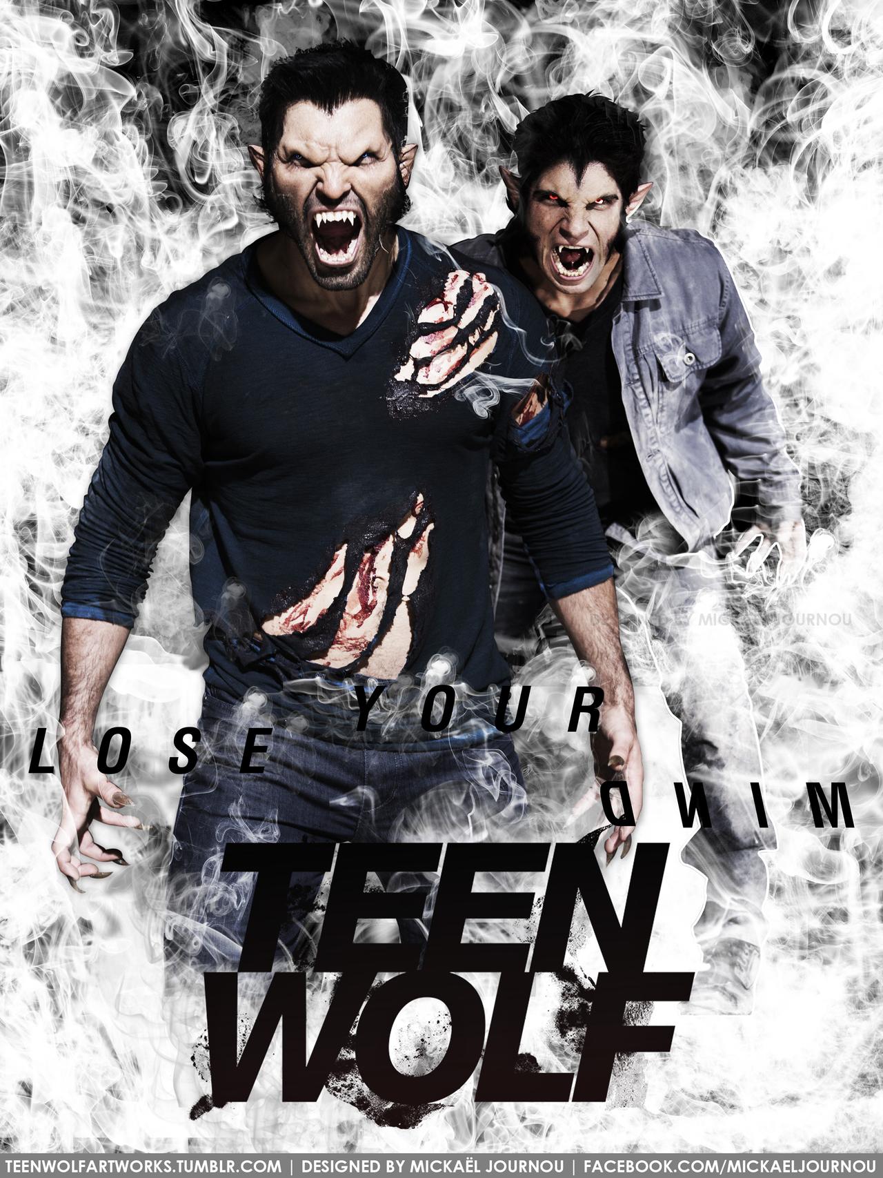 مسلسل Teen Wolf الموسم الثالث كامل مترجم مشاهدة اون لاين و تحميل  Teen_wolf_poster_season_3___derek_scott_by_fastmike-d6wnk1h