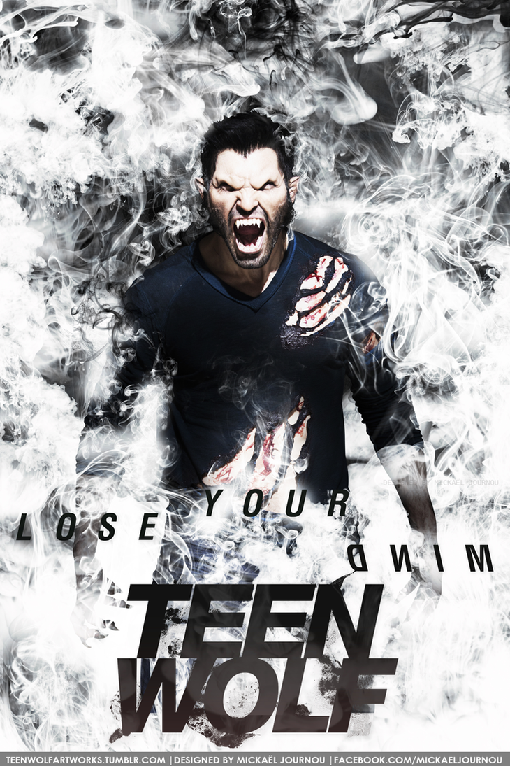 Derek Hale season 3b poster by FastMike on DeviantArt