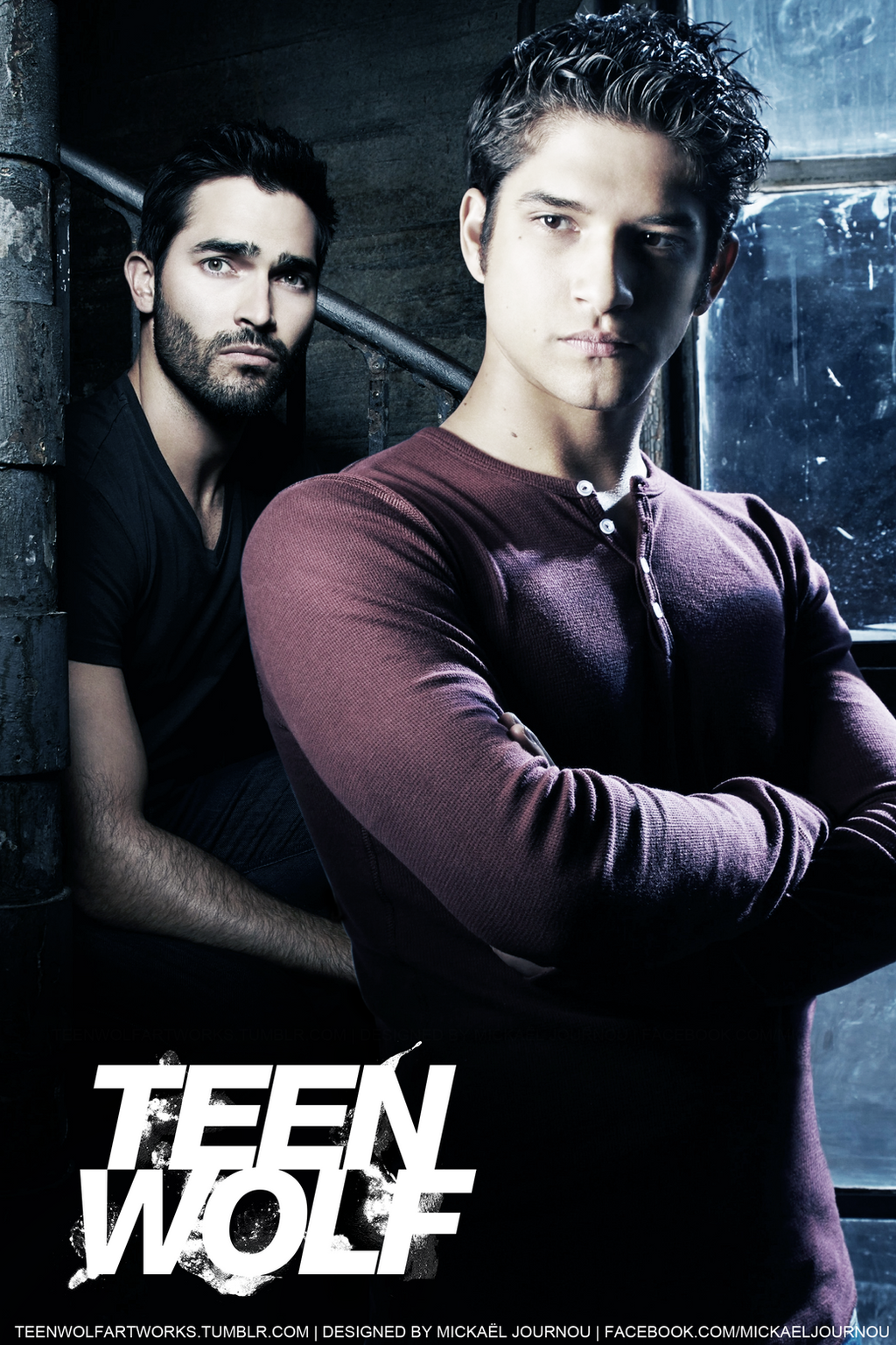 Scott/Derek Teen Wolf promo poster by FastMike on DeviantArt