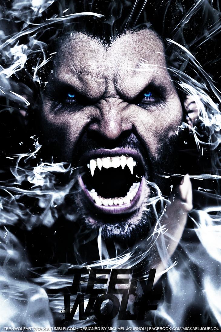 Derek Teen Wolf promo poster by FastMike on DeviantArt