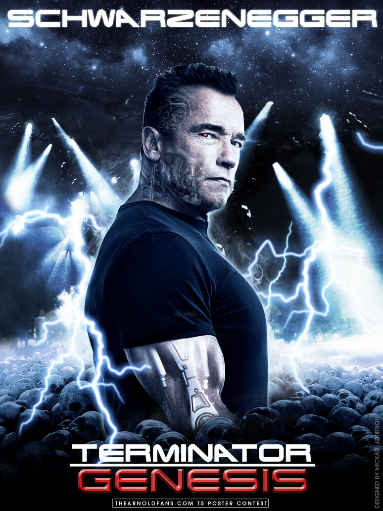 Terminator 5 Genesis Poster by FastMike on DeviantArt