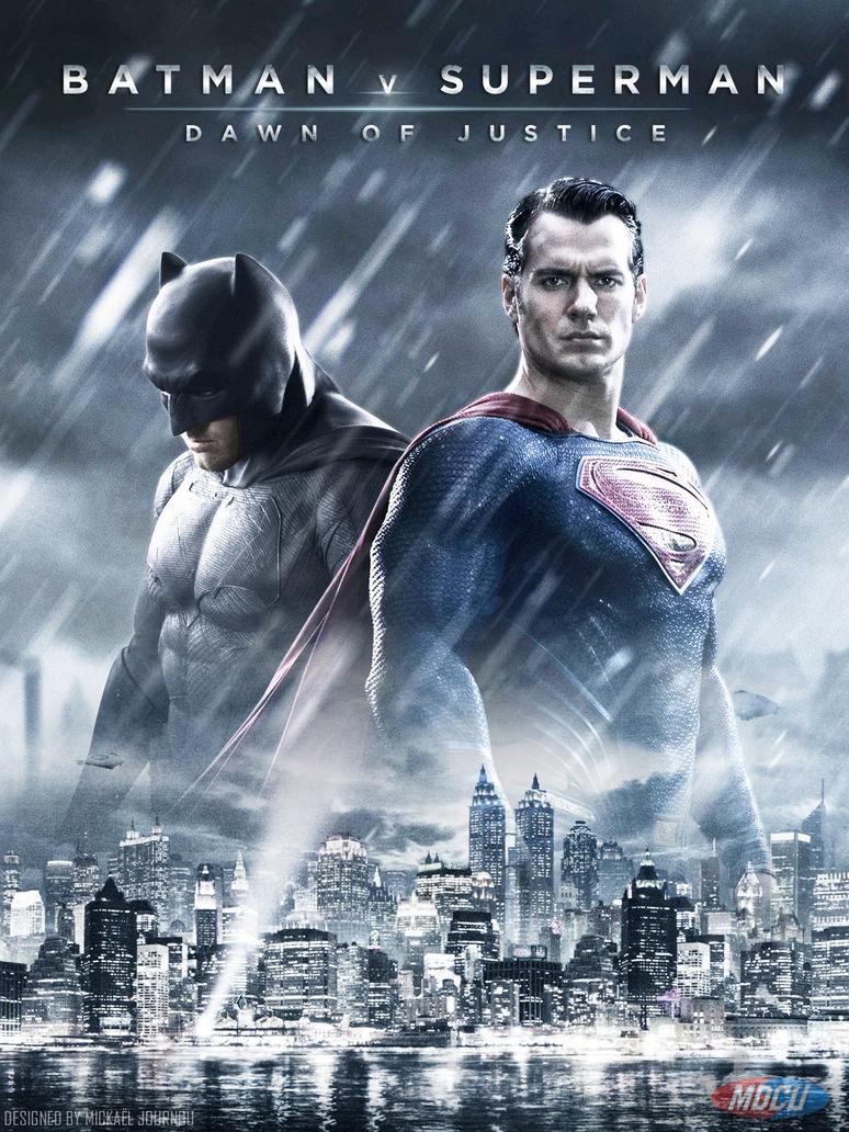 Batman v Superman Poster by FastMike on DeviantArt