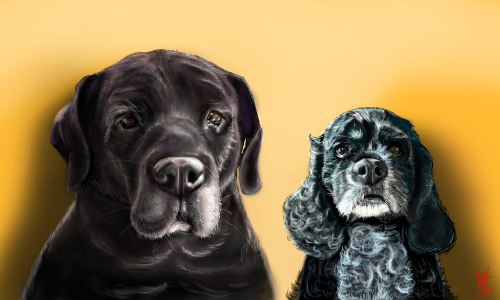 Maggie and Darla by Vinnyjohn13