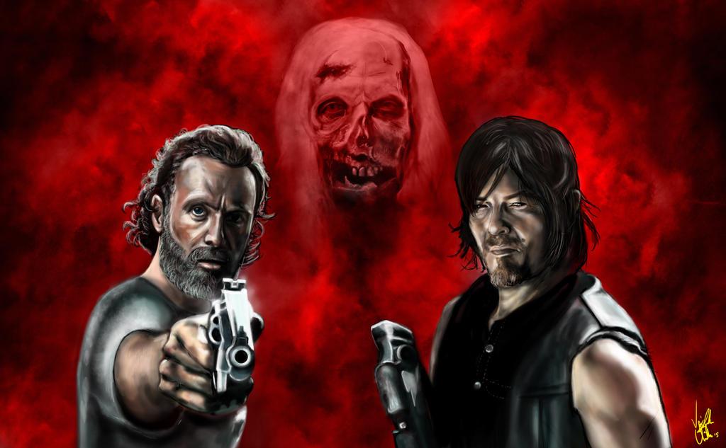 The Walking Dead by Vinnyjohn13