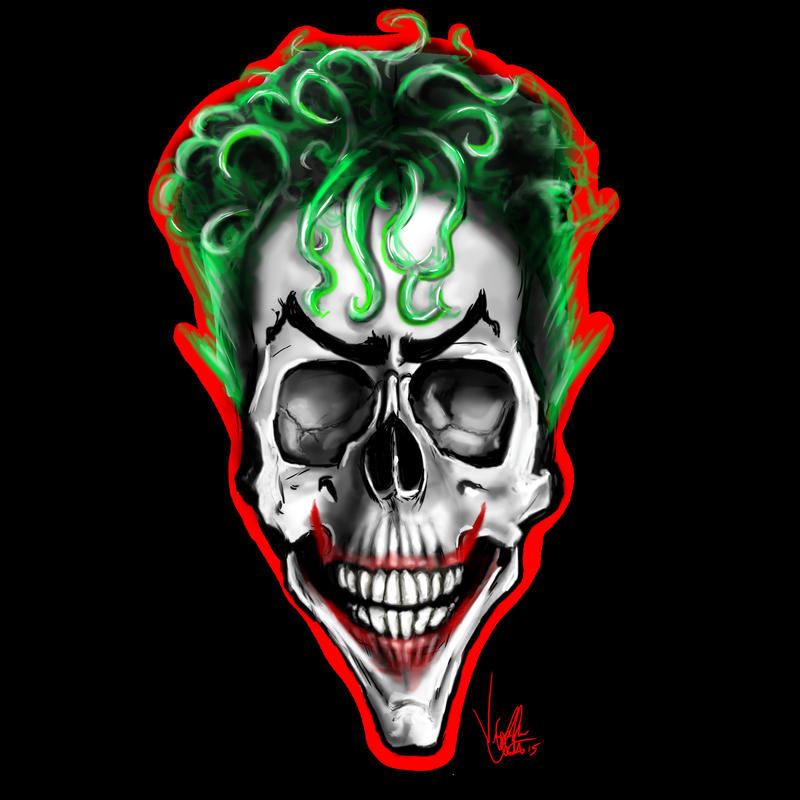 Joker Skull by Vinnyjohn13