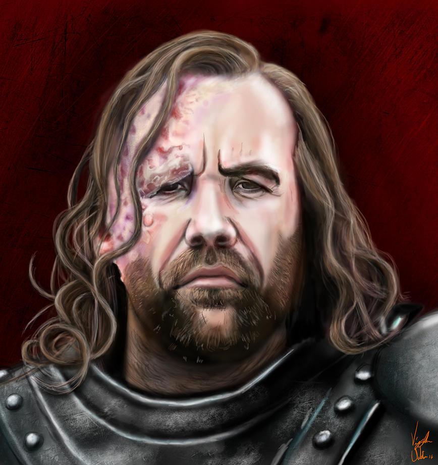The Hound Sandor Clegane by Vinnyjohn13