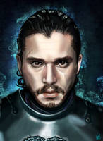 Jon Snow The King of The North by Vinnyjohn13
