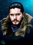Jon Snow - Game of Thrones by Vinnyjohn13
