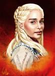 Daenerys Targaryen - Game of Thrones by Vinnyjohn13