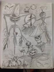 Scarecrow Sketches