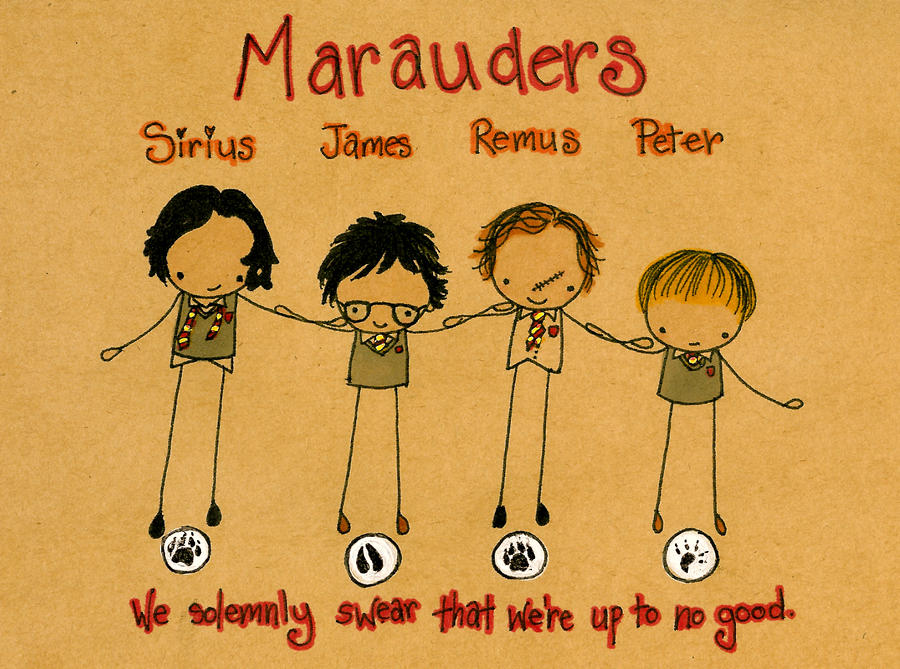 The Marauders by Pinkie-Perfect