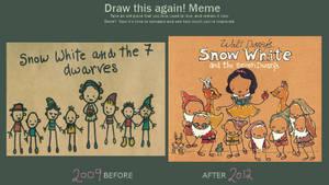 Draw This Again: Snow White