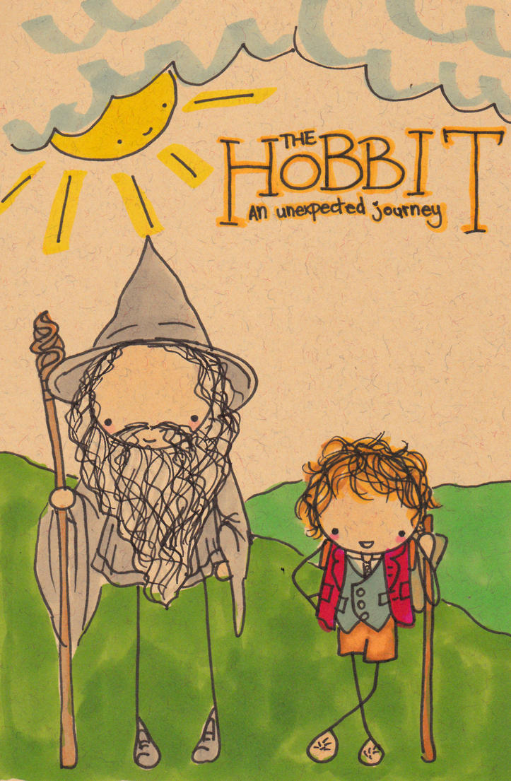 The Hobbit- Men with Sticks by Pinkie-Perfect