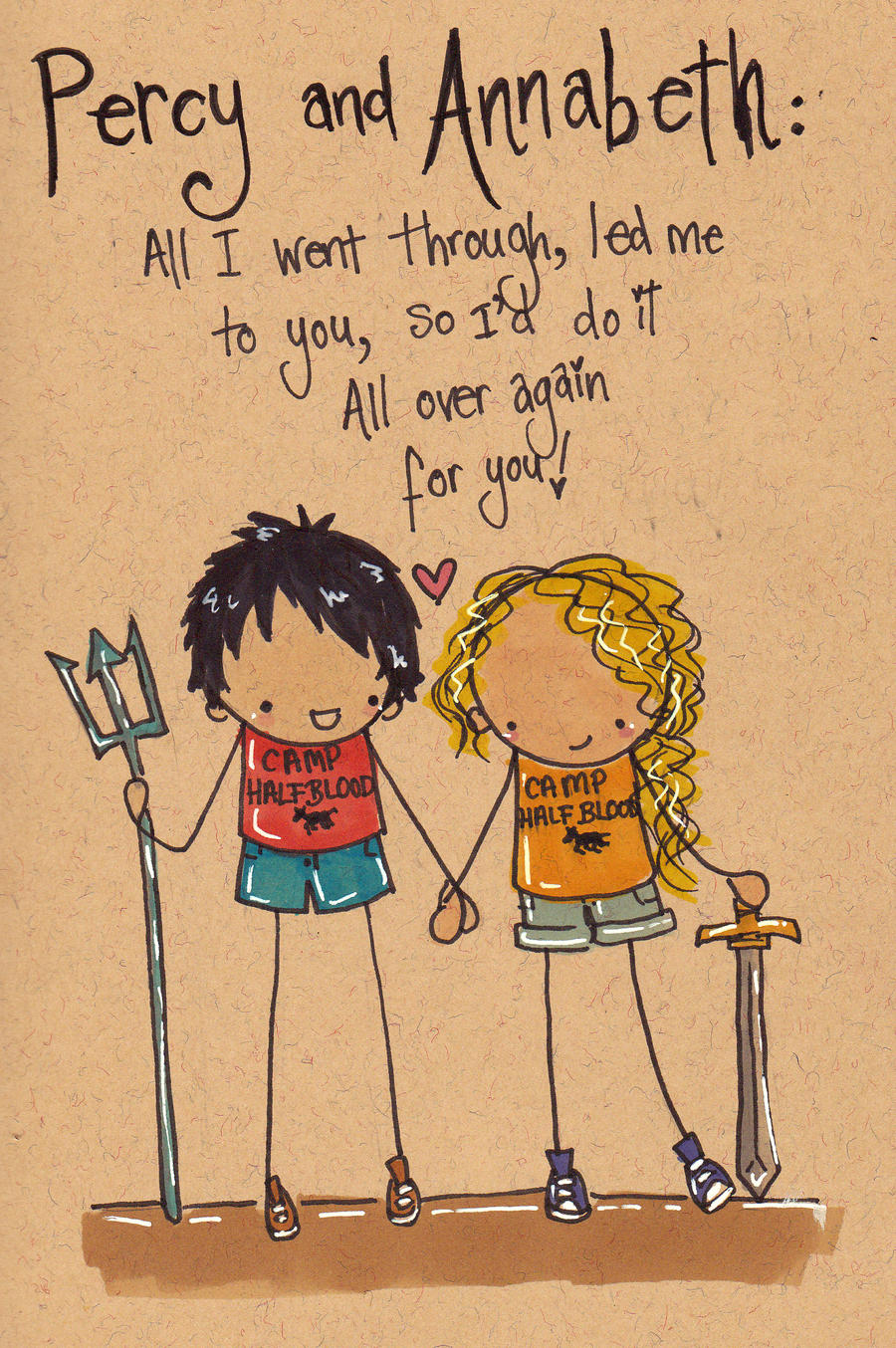 Percy and Annabeth by Pinkie-Perfect on DeviantArt