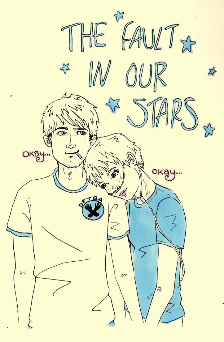 Leyendo entre letras bajo la misma estrella john green for The fault in our stars coloring pages
