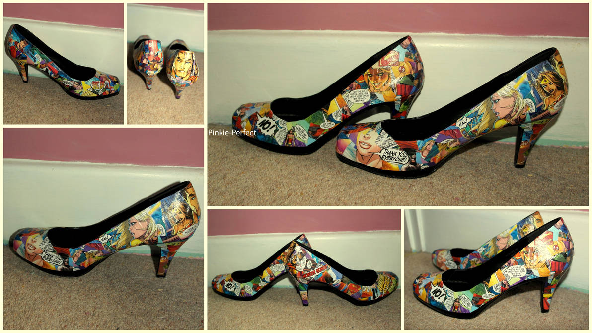 c5c1a267bb29 DC Comics Shoes by Pinkie-Perfect on DeviantArt
