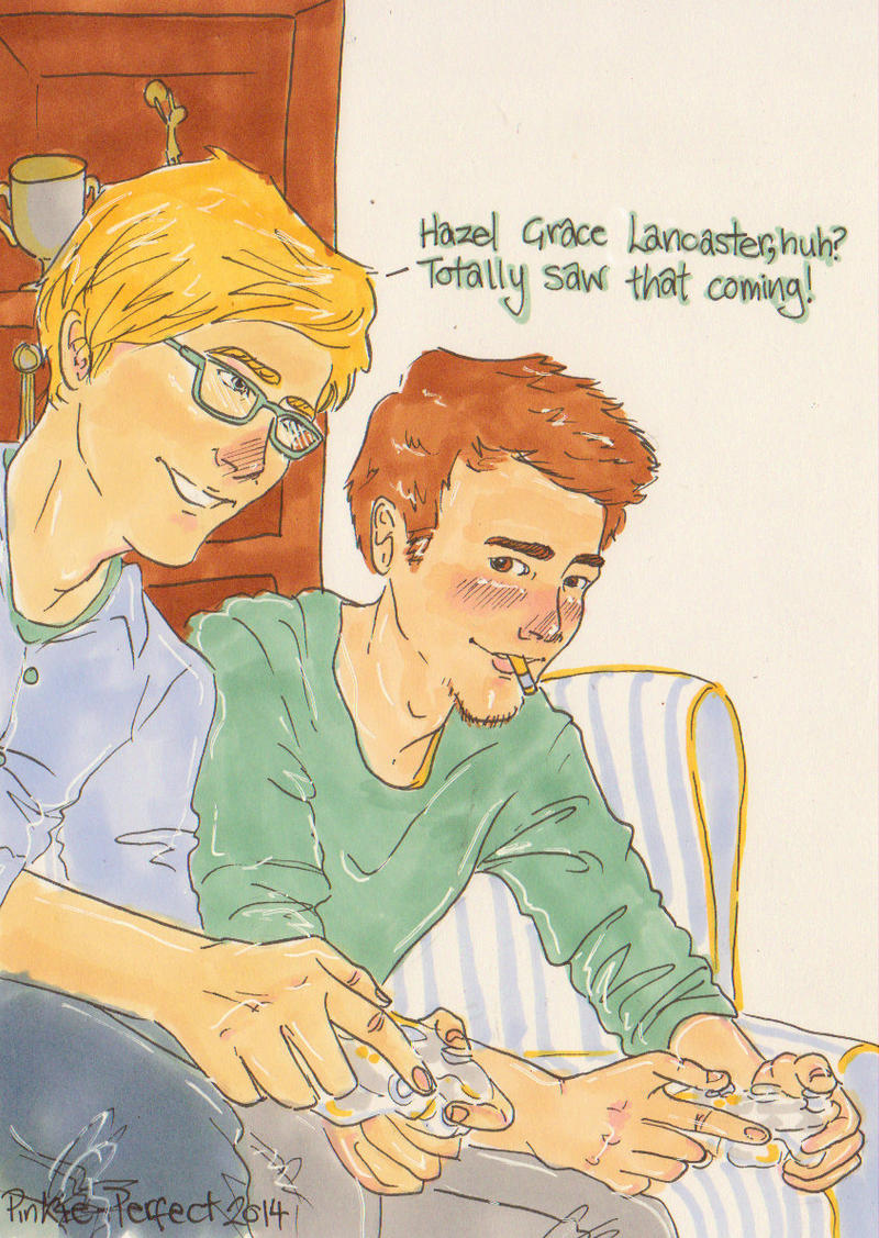 Augustus and Isaac by Pinkie-Perfect