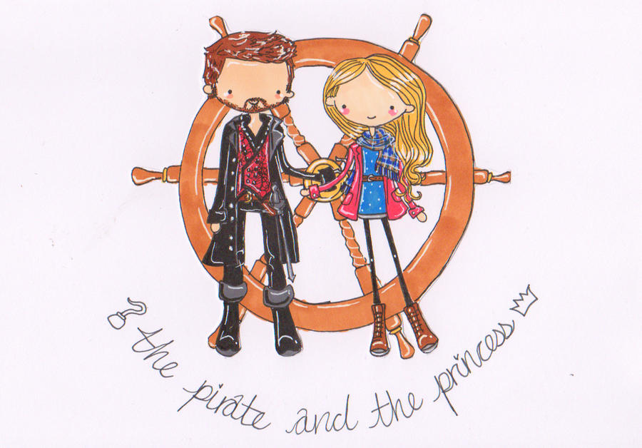 OUaT: CaptainSwan by Pinkie-Perfect